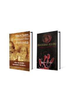 El manuscrito de Avicena y cuaderno negro