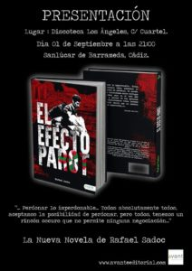 Efecto Parot Editorial Avant Rafael Sadoc