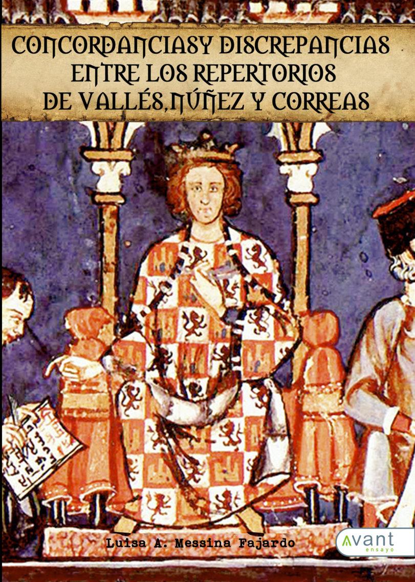 Cordancias y discrepancias entre los repertorios de Valléz, Núñez y Correas