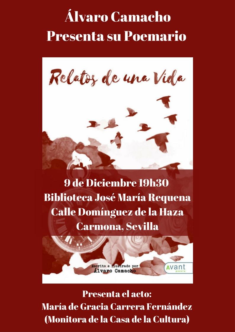 poesia relatos de una vida Alvaro Camacho