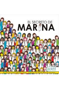 El secreto de Marina- edición de la obra en papel