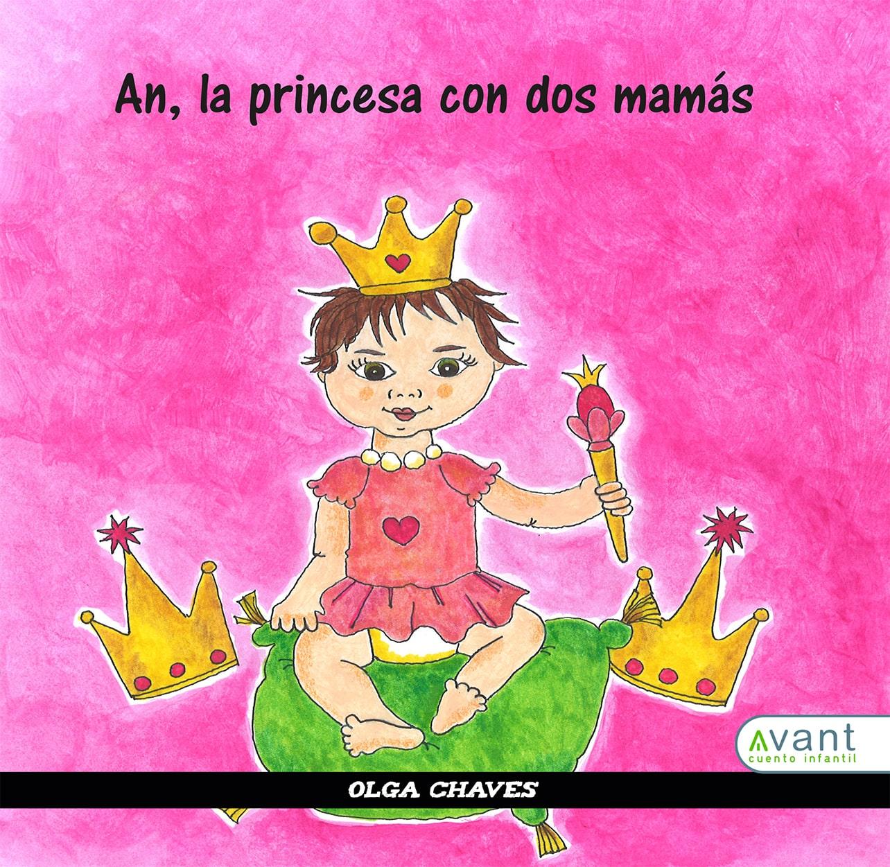 Una princesa con dos mamás - obra en papel