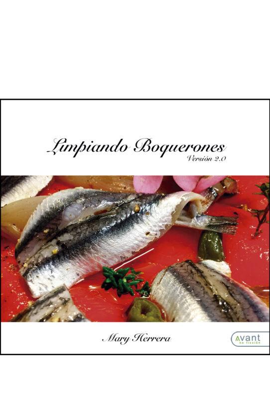 libro de recetas Limpiando boquerones
